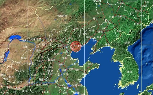 中国地震台网的最新测定资讯唐山滦州市发生5级地震