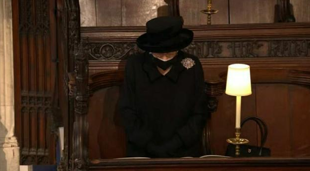 英国皇室重要人物参加菲利普亲王葬礼活动