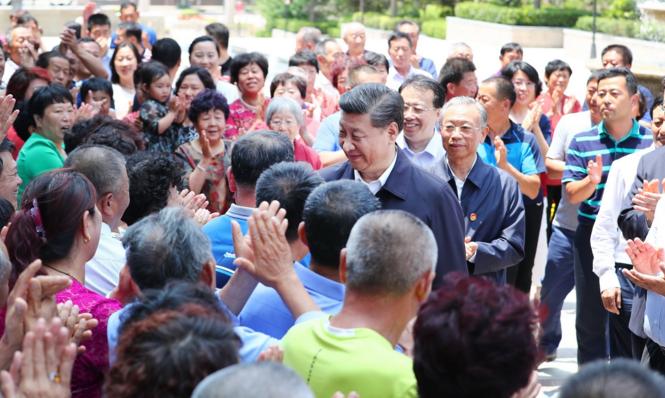 陕西省省政府在习近平总书记指导下加强民生保障与社会建设