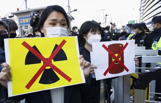 韩国针对于日本排放核废水的要闻做出怎样的回应?