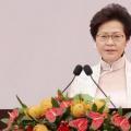 林郑月娥表示香港经济恢复发展离不开地方的稳定