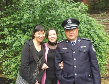 56岁的巡逻民警刘继忠作为湖南代表入选中国好人榜榜单