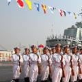 今日视界关注我国中国人民海军一次性服役三艘大型主力舰艇