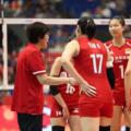 刚结束世界女排联赛中中国女排爆冷输给日本女排引发热议