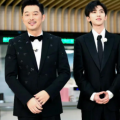蔡徐坤和沙溢之间友情完全是在综艺节目《奔跑吧》建立起来