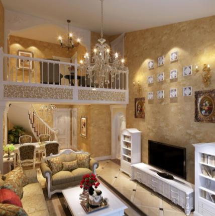 现如今大多数城市家庭如果层高足够就会考虑复式家装设计