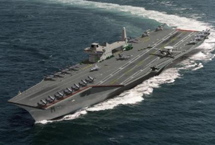 英国伊丽莎白女王航母舰队可能途径世界多个重要的地理区域
