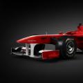 今日独家关注车王舒马赫之子小舒马赫开法拉利赛车进行测试