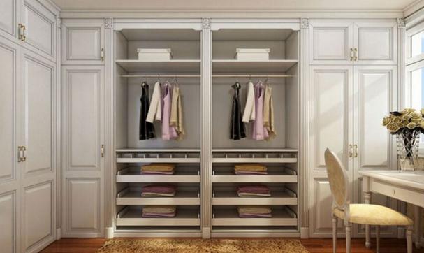 如何设计挑选欧式衣柜的原材料进行设计是家居家装中的关键