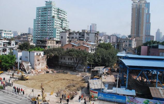 广州市荔湾区地方政府利用最短时间完成防疫人员宿舍搭建