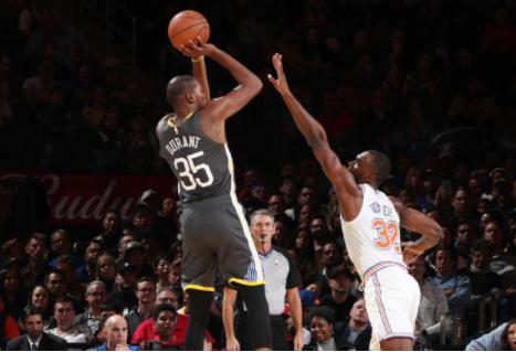 美国职业男子篮球联赛明星杜兰特得分能力一直持续到现在